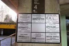 Plaques Dentiste la Défense